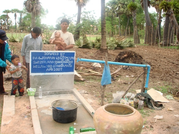 Cambodia donation water well